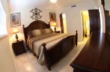 hotel room at blue marlin cove