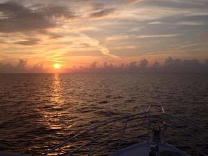 cat island sunrise
