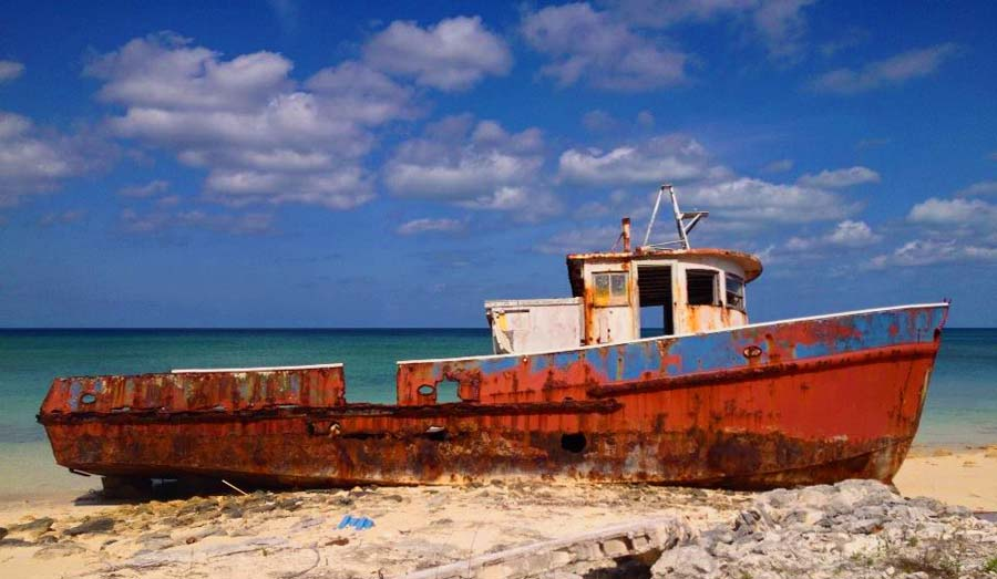 Cat Island Ship Wreck