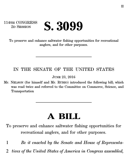 shark diving legislation
