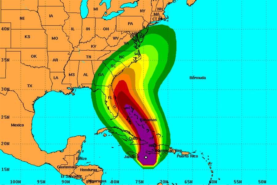 hurricane matthew bahamas